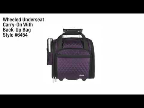 Wheeled Underseat Carry-On with Back-Up Bag  Style #64541
