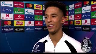 Thilo Kehrer Post Match Interview Man Utd 0-2 PSG