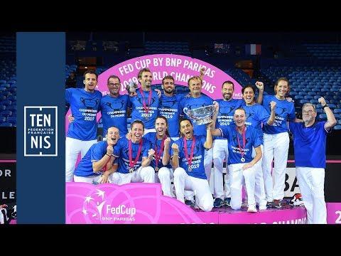 Victoire en Fed Cup : les réactions de toute l'équipe !