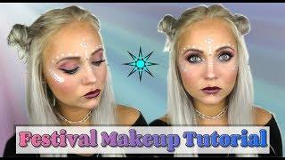 GRWM: Festival Makeup Tutorial   Blond_Beautyy