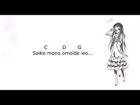 Chord and Lyrics SecretBase   Kimi ga Kureta Mono