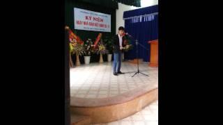 Tiếng hát giữa rừng Pác bó- sáo trúc Cao Trí Minh