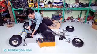 Chế XE Điện F1 Gokart v5 - 60v 3000w - Phần 1 - DIY ELECTRIC GO KART