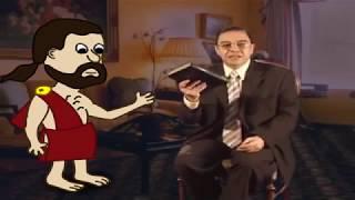 منصر مسيحي  يتحدى مسلم ، فصعقه من داخل الكتاب المقدس