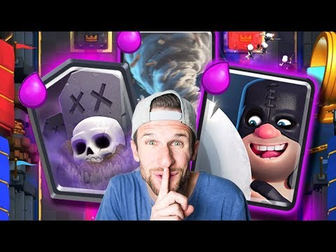 Executioner + Graveyard = WIN!! Clash Royale Update Time!