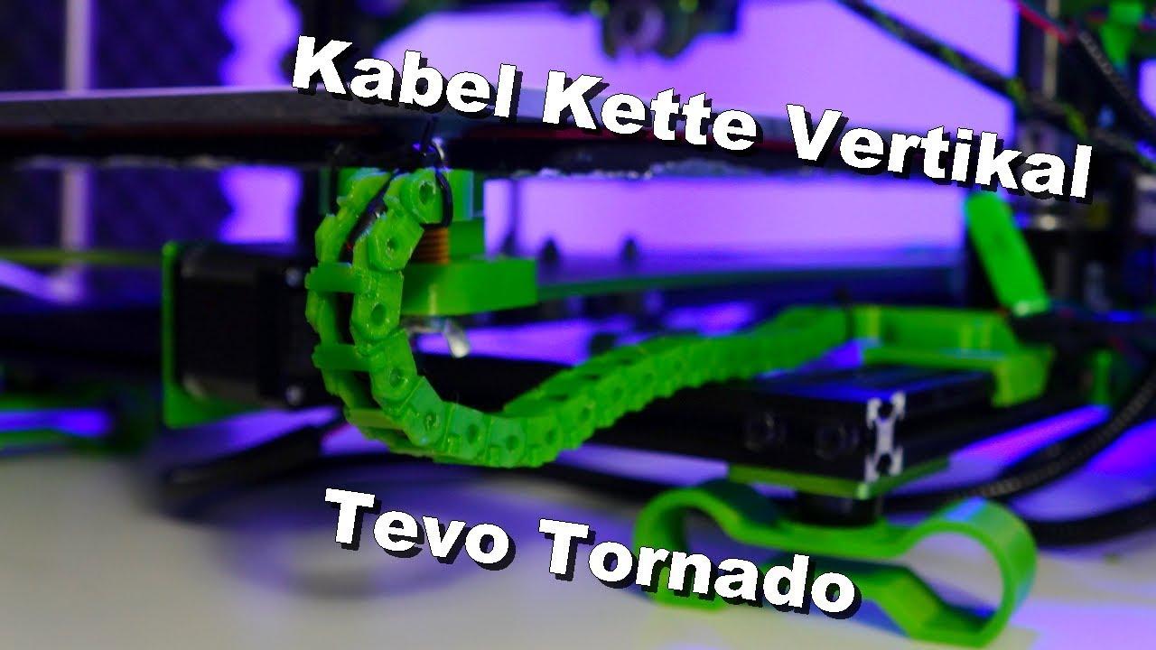 Tevo Tornado Cable Chain (Kabelkette Vetikal)