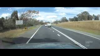 Dash Cam Australia - Coke Car Indimidating a Little Old Lady