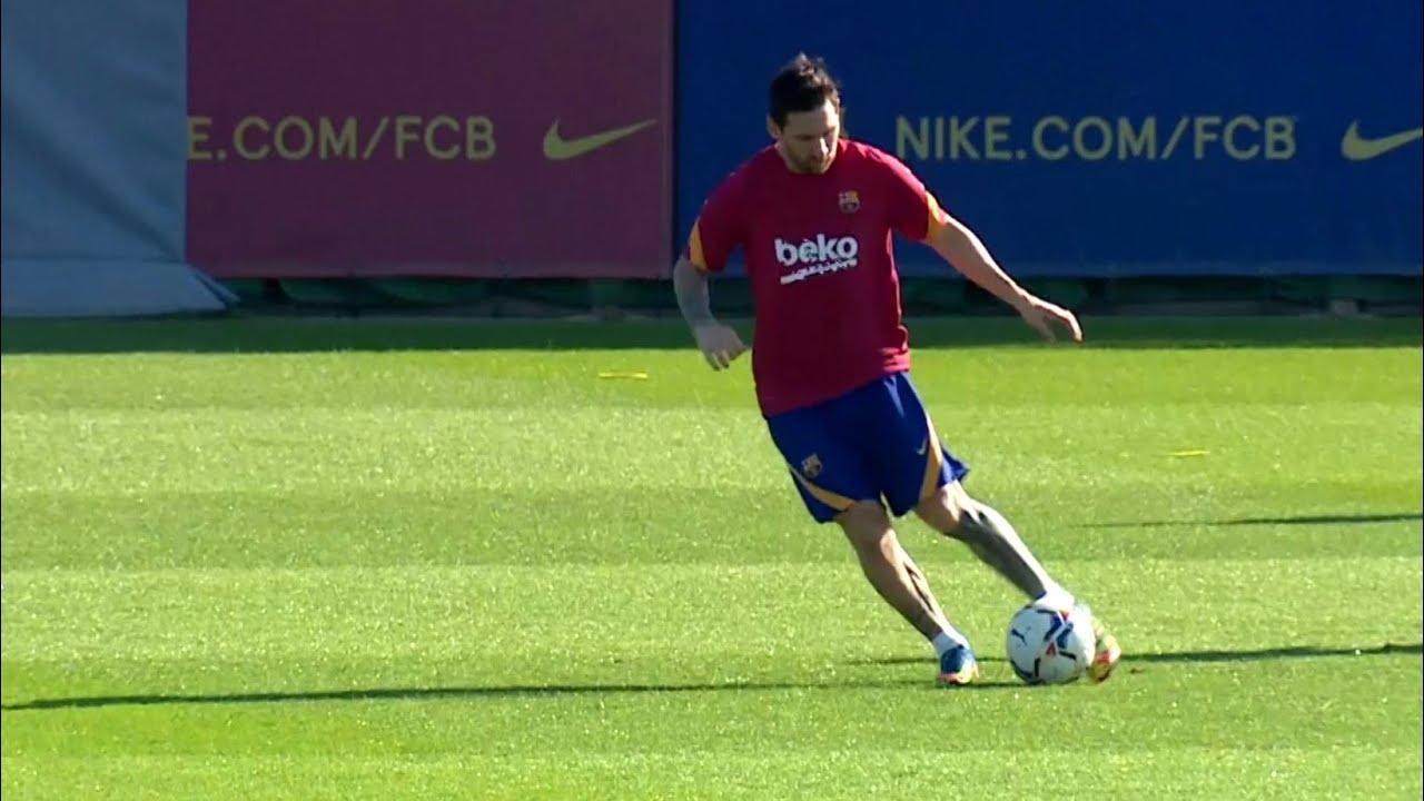 Messi & Barcelona Train Ahead Of First Pre-Season Friendly