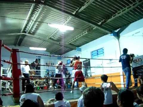 Copa Macaris 2016 - 1º Round - Thiago Spósito (Boxe Training) X Thiago Cabral