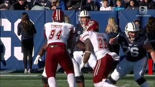 BYU vs UMass Game Highlights 11/18/17