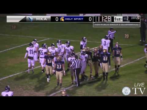 MKA at Holy Spirit - Football - Non-Public Group 2 Quarterfinal