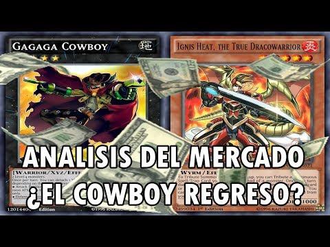 Yu-Gi-Oh! Análisis de los Precios de Mercado ¿Gagaga Cowboy esta de Regreso - TeamSetoX