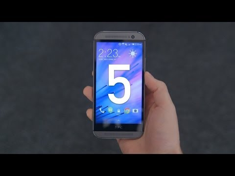 HTC One M8: Review & Top 5 Features!