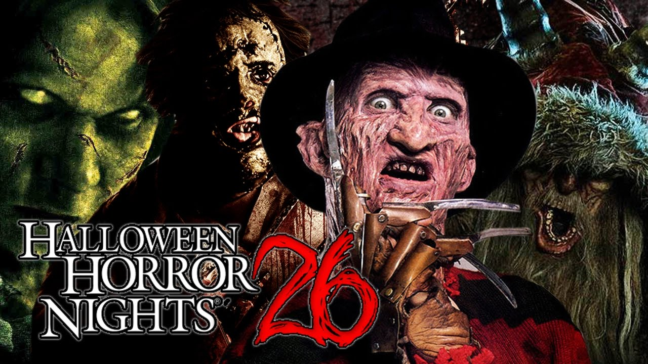 universal studios halloween horror nights 2016 review maze highlights youtube