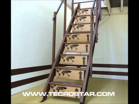 Escalera hidraulica herreria naval levy doovi for Escalera aluminio plegable easy