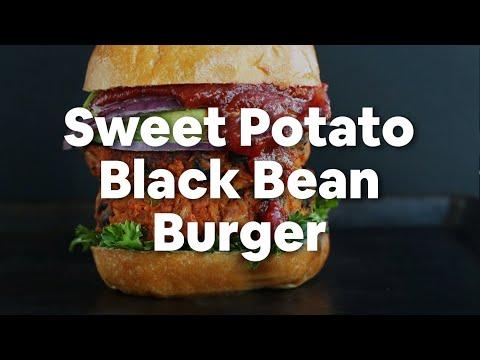 Sweet Potato Black Bean Burger Minimalist Baker Recipes