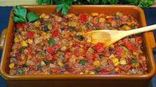 Receta Pisto de verduras, receta de la abuela Espiri (Fritada de verduras) - Recetas de cocina