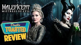 MALEFICENT MISTRESS OF EVIL MOVIE REVIEW - Double Toasted Reviews