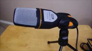 Tonor USB Professional Microphone REVIEW