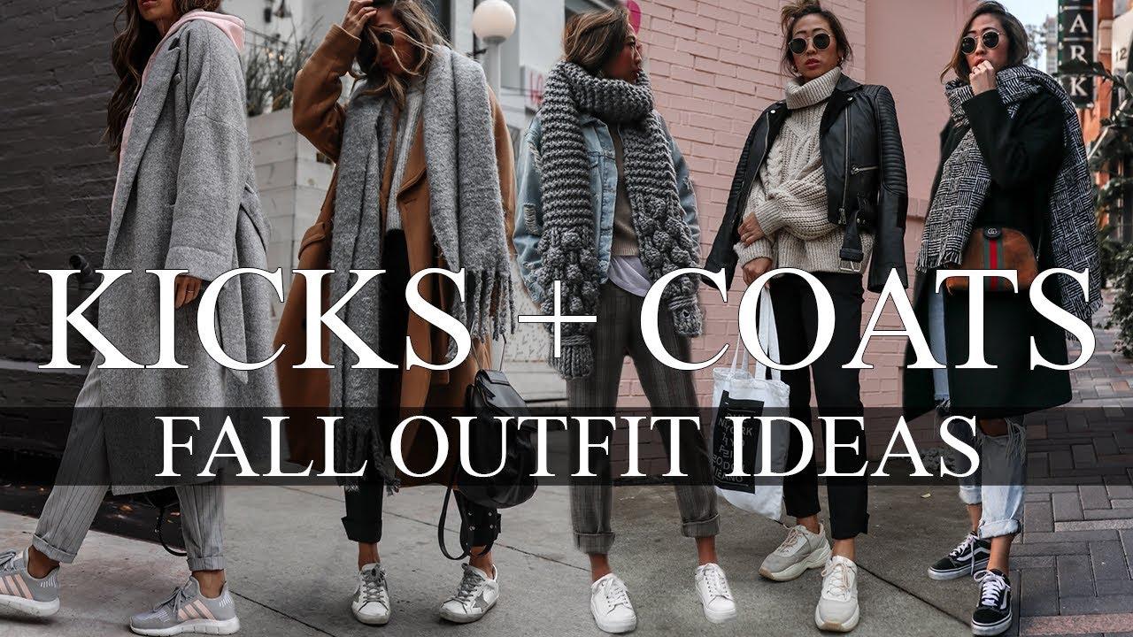 KICKS + COATS   FALL OUTFIT IDEAS 2