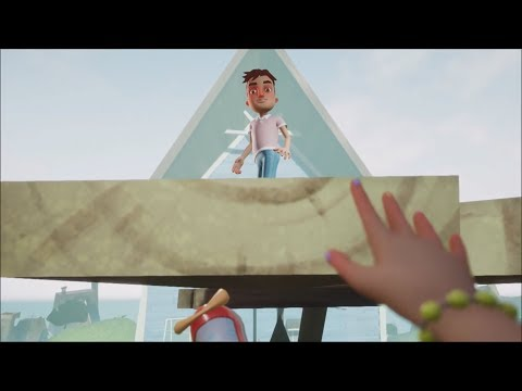HELLO NEIGHBOR HIDE AND SEEK: INTENTA NO LLORAR.. El FINAL mas TRISTE que podria tener