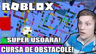ROBLOX Romania: SUPER OBSTACLE RACE