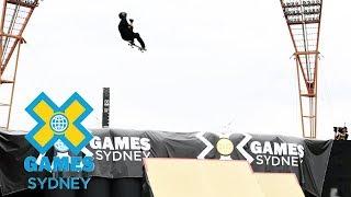 Trey Wood wins Skateboard Big Air bronze | X Games Sydney 2018