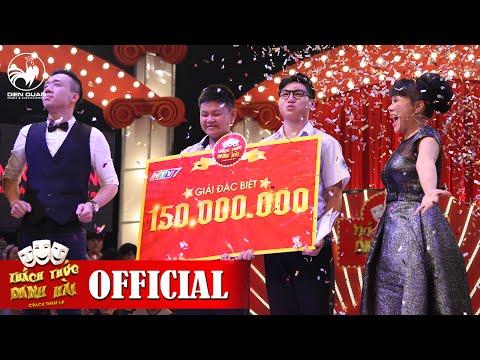 Thách Thức Danh Hài mùa 2   GALA 3 FULL HD: Trấn Thành, Việt Hương òa khóc trao 150 triệu