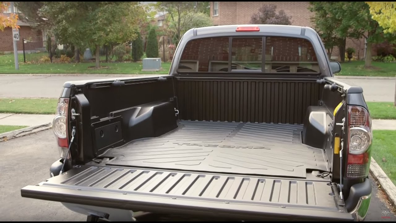 toyota truck accessories bed mat youtube toyota truck accessories bed mat