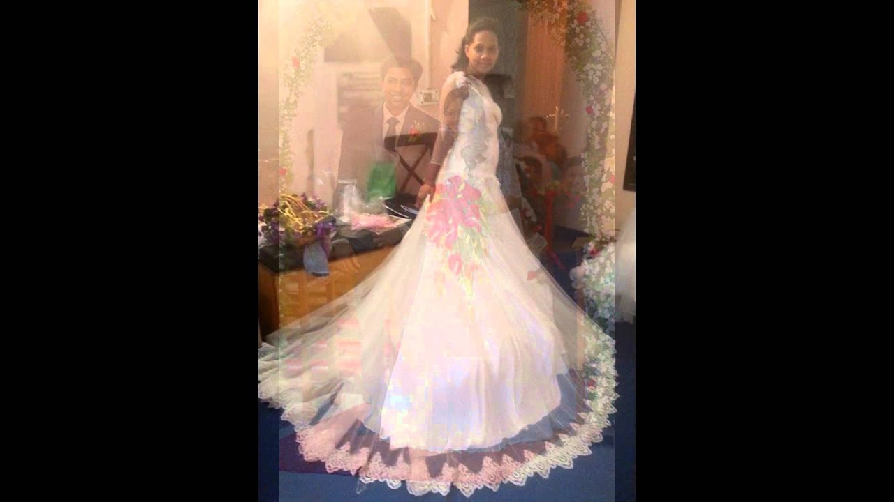 christian wedding gowns - YouTube