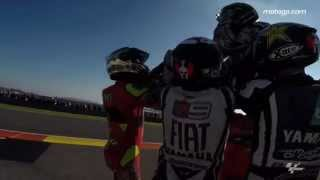 GoPro™ Behind the Scenes: From leathers to suits