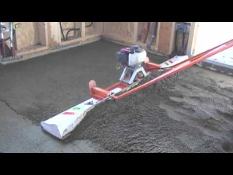 Screeds Concrete Fast And Easy Youtube