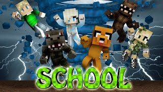 Minecraft School | Military School of Mods - Tornado Destroys School! (Tornado Mod, Weather, School)