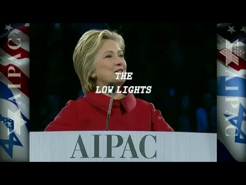 Hillary Clinton's Israeli Speech: The Low lights (APAC - 21/3/2016):