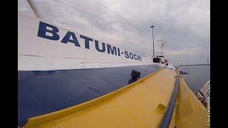 На Комете из Сочи в Батуми /// From Sochi To Batumi By Ferry