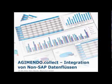 Integration von Non-SAP-Datenflüssen: AGIMENDO collect
