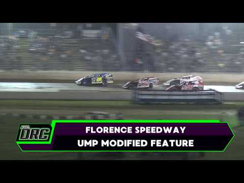 Florence Speedway | 8/10/17 | UMP Modifieds | Feature