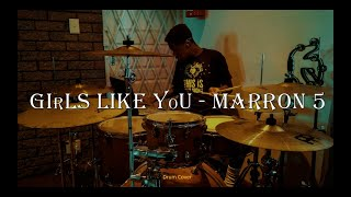 Maroon 5 - Girls like you ft. Cardi B {Drum cover}