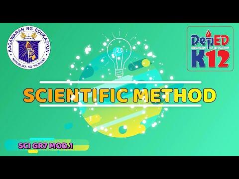 SCIENCE G7 MODULE 1- SCIENTIFIC METHODS