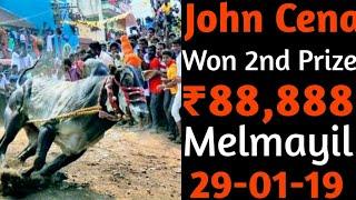 29-01-19 | Paratharami John Cena Won 2nd Prize | In Melmayil Village | Vellore Manjuvirattu