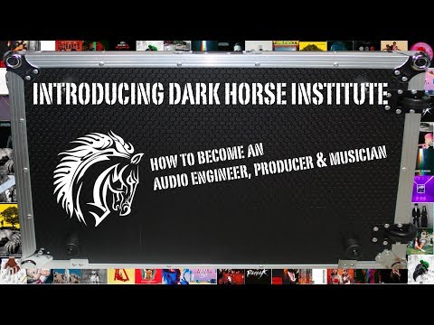 How To Become an Audio Engineer, Producer and Musician