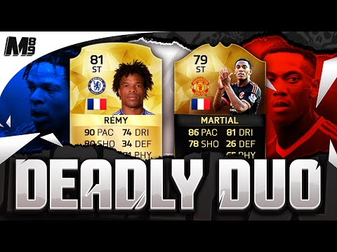 IF MARTIAL & REMY DEADLY DUO!! FIFA 16 Ultimate Team