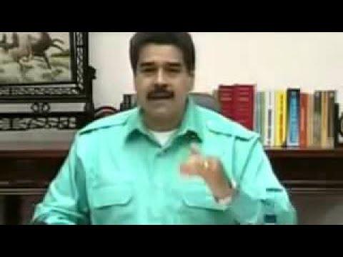 Presidente Nicolás Maduro. Cadena Nacional de Radio y Televisión. Venezuela, 19 de febre