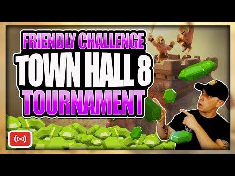 Free Gems for the Prize! TH 8 Friendly Challenge Tournament Hosted by Reddit | Clash of Clans