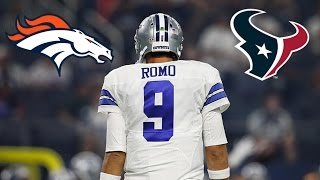 Dallas Cowboys release Tony Romo! Broncos and Texans want Romo?, and More! NFL Free Agency