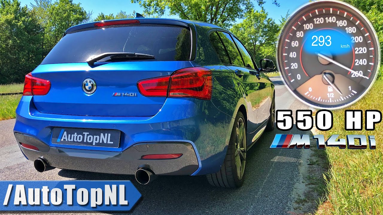 550HP BMW M140i xDrive *INCREDIBLE* 0-290km/h ACCELERATION by AutoTopNL