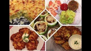 Куда девать кабачки? Что приготовить из кабачков? Рецепты вкусных и простых блюд из кабачков!
