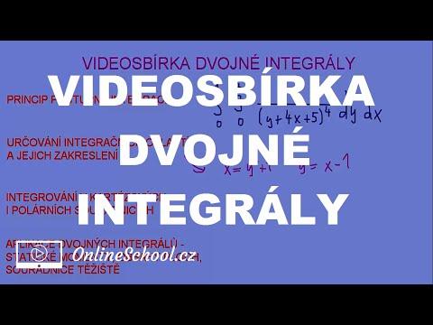 Videosbírka | 8/8 Dvojné integrály | Matematika | Onlineschool.cz