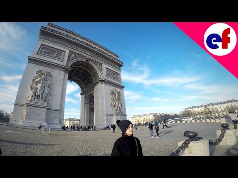Winter In Paris 2017: Arc de Triomphe (HD 1080p) | Explore France