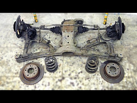 BMW E30 M3 Front And Rear Subframe [Restoration]